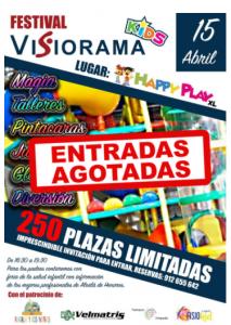 agotadas 213x300 - El 1º Festival de Visiorama Kids se celebrará en Happy Play XL